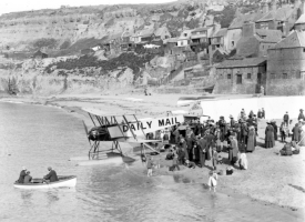 Aircraft on Tate Sands
