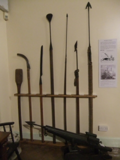 Whaling implements
