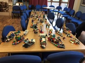 Flotilla of Lego